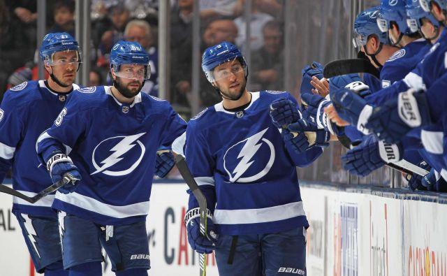 Hokejisti Tampe so že lani blesteli v rednem delu sezone, bodo letos dobre predstave nadgradili tudi v končnici? FOTO: AFP