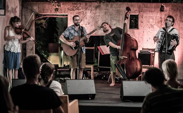Brencl banda z novo glasbo.<br /> Foto: Bojan Stepančič