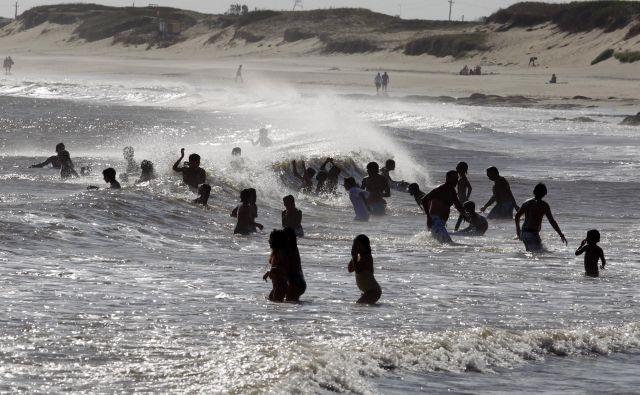 Vrvež v urugvajskih turističnih resortih doseže vrhunec januarja. FOTO: Reuters