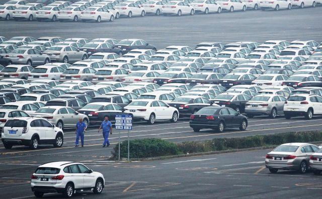 Letos februarja so na Kitajskem prodali za 1,48 milijona manj vozil kot isti mesec lani. Foto Reuters