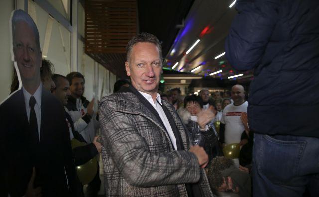 Boris Popovič je bil obsojen zaradi žaljivih besed na račun novinarke RTV Slovenija Eugenije Carl. FOTO Jože Suhadolnik