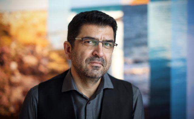 Makis Citas, pisatelj, novinar in urednik. FOTO Jure Eržen
