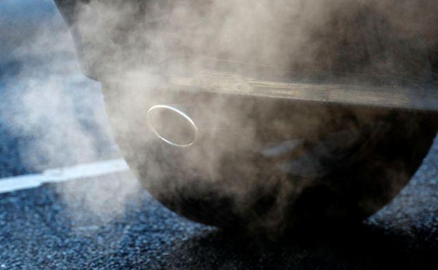 Lani se je izpust ogljikovega dioksida pri avtomobilih, prodanih v Evropi, opazno povečal. FOTO: Reuters