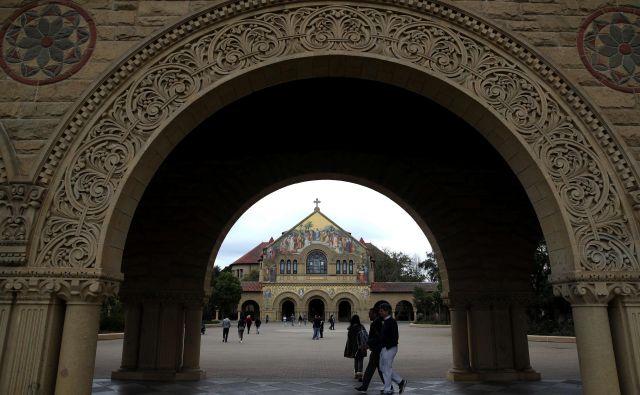 V škandal so vpletene univerze Yale, Georgetown, Ucla, Južna Kalifornija, Teksas, Wake Forest, San Diego in Stanford (na fotografiji). FOTO: AFP