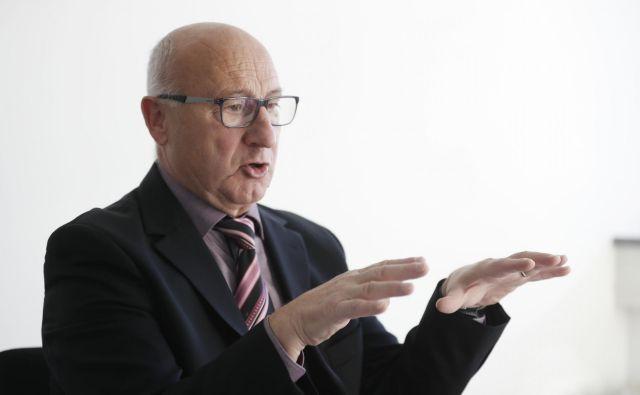 Predsednik Olimpijskega komiteja Slovenije Bogdan Gabrovec je bil kritičen do vladajoče politike. FOTO: Leon Vidic/delo