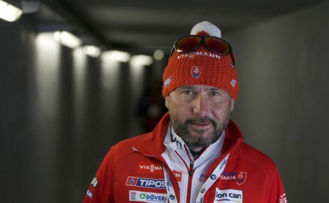Tomaš Kos, zdaj trener v slovaški reprezentanci, še naprej ohranja številne stike s Slovenci.<br /> FOTO Matej Družnik/Delo