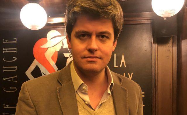 Gaspard Koenig, francoski liberalni filozof in pisatelj Foto: Mimi Podkrižnik