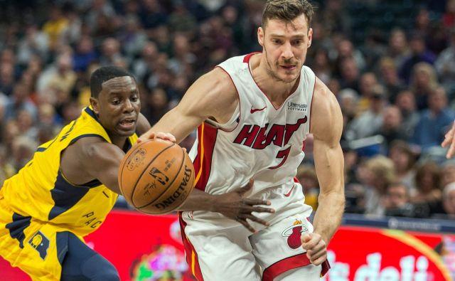 Miami Gorana Dragića se je utrdil na osmem mestu vzhodne konference, ki še vodi v končnico lige NBA. FOTO: Usa Today Sports