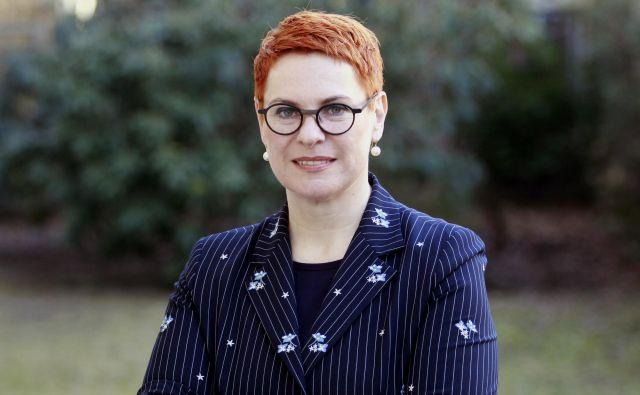 Sigrid Berka,avstrijska veleposlanica v Sloveniji Foto Roman Šipić