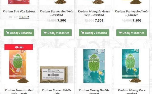 Prepovedane izdelke so v eni od spletnih trgovin prodajali še včeraj.