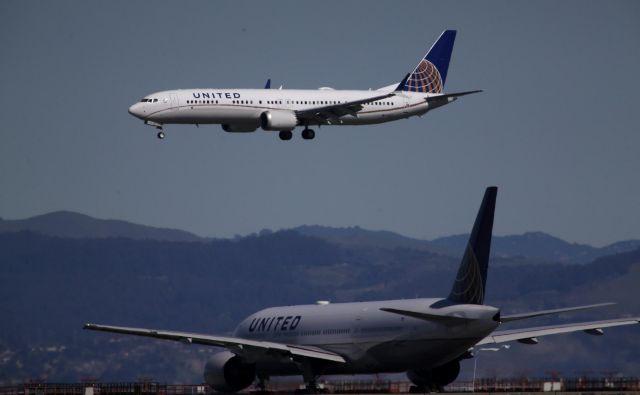 Letala boeing 737 max 8 so nazadnje prizemljili v Združenih državah Amerike. FOTO: AFP
