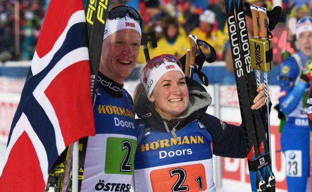 Norveška junaka dneva. FOTO: AFP