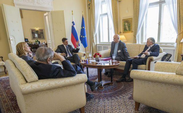 Pahor se bo glede sodne rehabilitacije bazoviških žrtev posvetoval z zunanjim ministrstvom. Foto Uprs