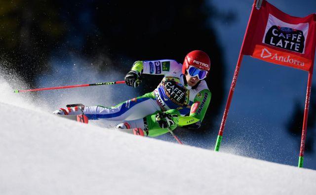 Žan Kranjec je sezoni postavil piko na i s tretjimi stopničkami v karieri. FOTO: AFP