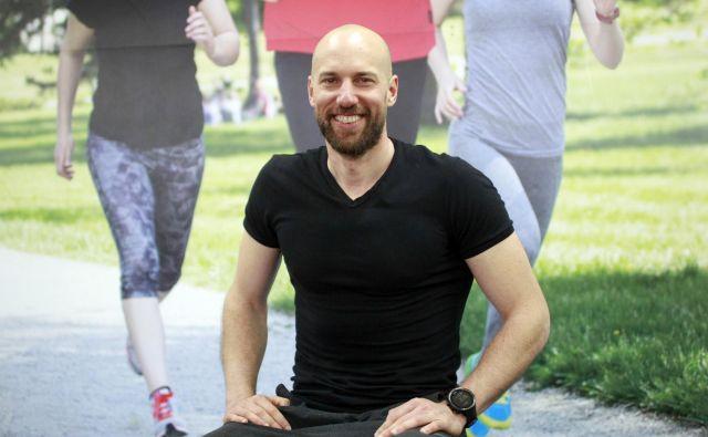 Dejan Lenart, trener v Happy Gym. FOTO: Roman Šipić