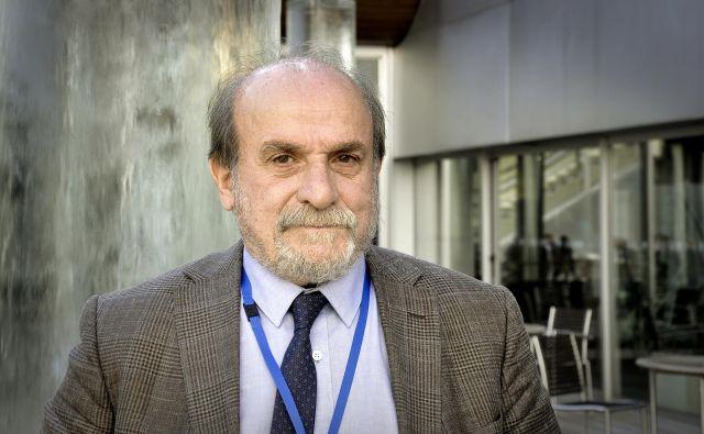 Ertuğrul Kürkçü je kurdski aktivist in poslanec v turš�kem parlamentu. FOTO: Branko Soban
