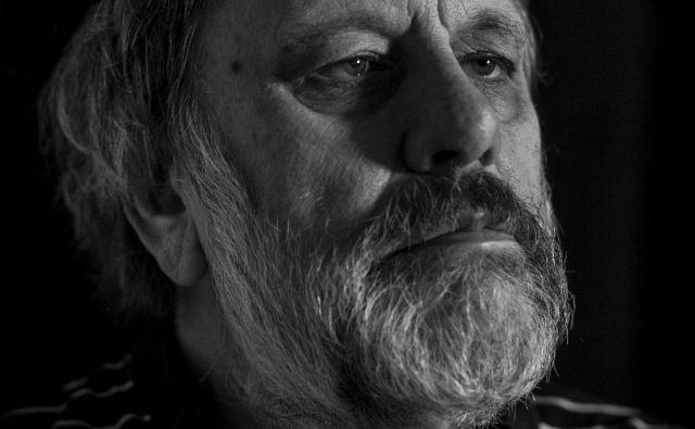 Slavoj Žižek je resen filozof in obenem pop zvezdnik. FOTO: Voranc Vogel/Delo