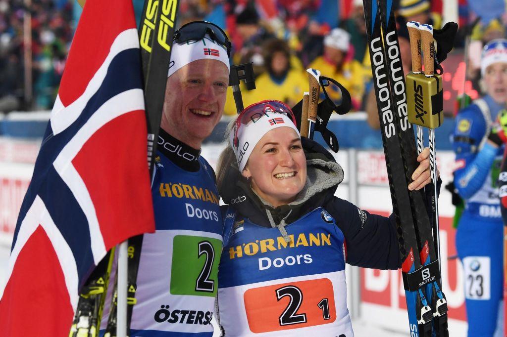 Tekma mešanih parov pripadla Norvežanoma