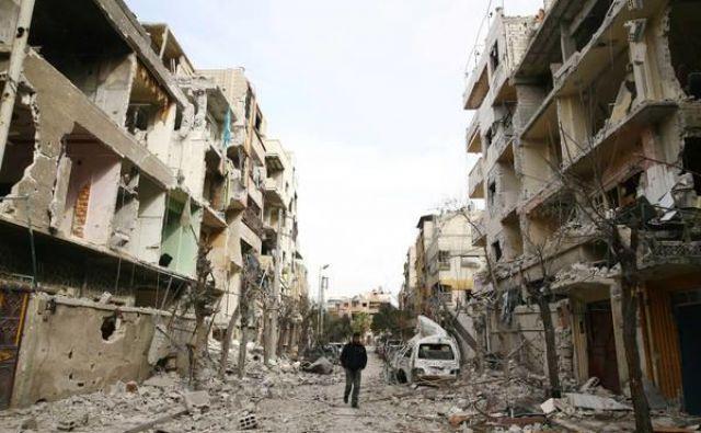 Sirija je ključno bojišče že dolgo ne več le hladne bližnjevzhodne vojne. FOTO: Reuters