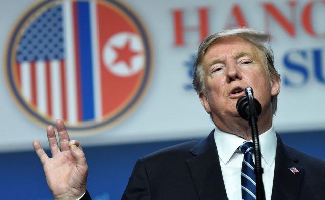Donald Trump FOTO: Saul Loeb/AFP