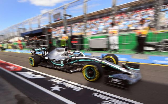 Lewis Hamilton je bil danes dominanten. FOTO: William West/AFP
