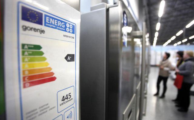 Nove energijske nalepke so med potrošniki ustvarjale zmedo. Foto: Mavric Pivk/Delo
