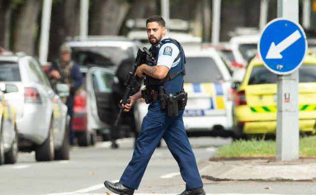 Gre za največji in najobsežnejši teroristični napad v zgodovini Nove Zelandije. FOTO: Stringer/Reuters