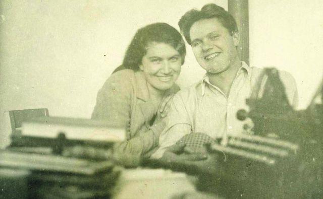 Zakon med Ivanko in Miškom Kranjcem je bil zelo srečen, dokler je trajal. Foto osebni arhiv