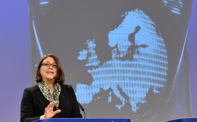 Kmalu naj bi se razkrilo, ali bo komisarka Bulčeva nastopila tudi na evropskih volitvah. FOTO: Eric Vidal/Reuters