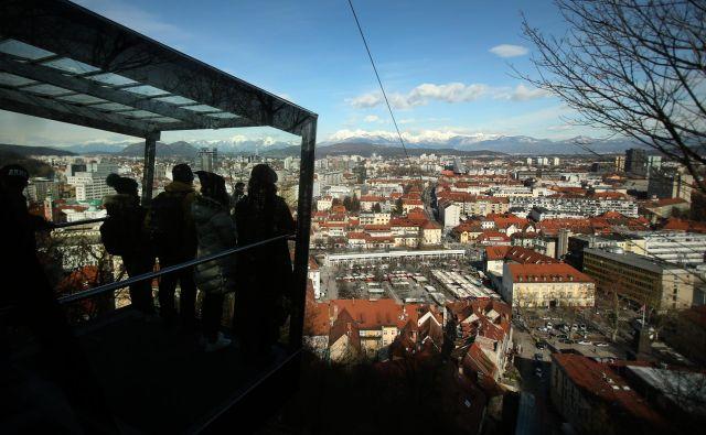 V Ljubljani cene nepremičnin dosegajo rekordne vrednosti. Do kdaj še? FOTO: Jure Eržen