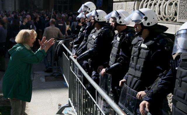 Običajni ljudje v Srbiji se počutijo vse bolj nemočne in preslišane. FOTO: AFP