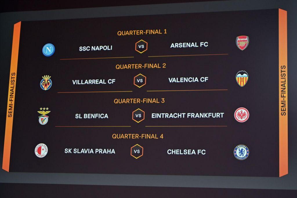 Četrtfinalna poslastica: Napoli proti Arsenalu