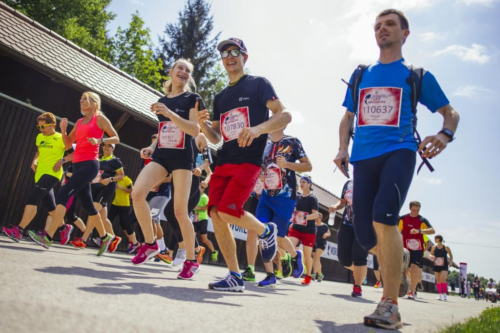 TEK WINGS FOR LIFE WORLD RUN LETOS V ARBORETUMU VOLČJI POTOK