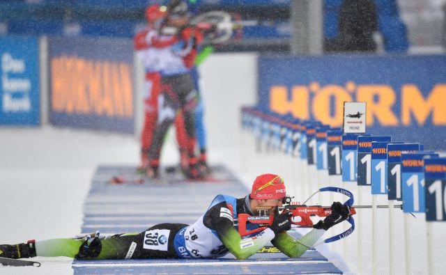 Prvenstvo se bo končalo v nedeljo, na tekmi s skupinskim štartom bo Jakov Fak. FOTO: Reuters