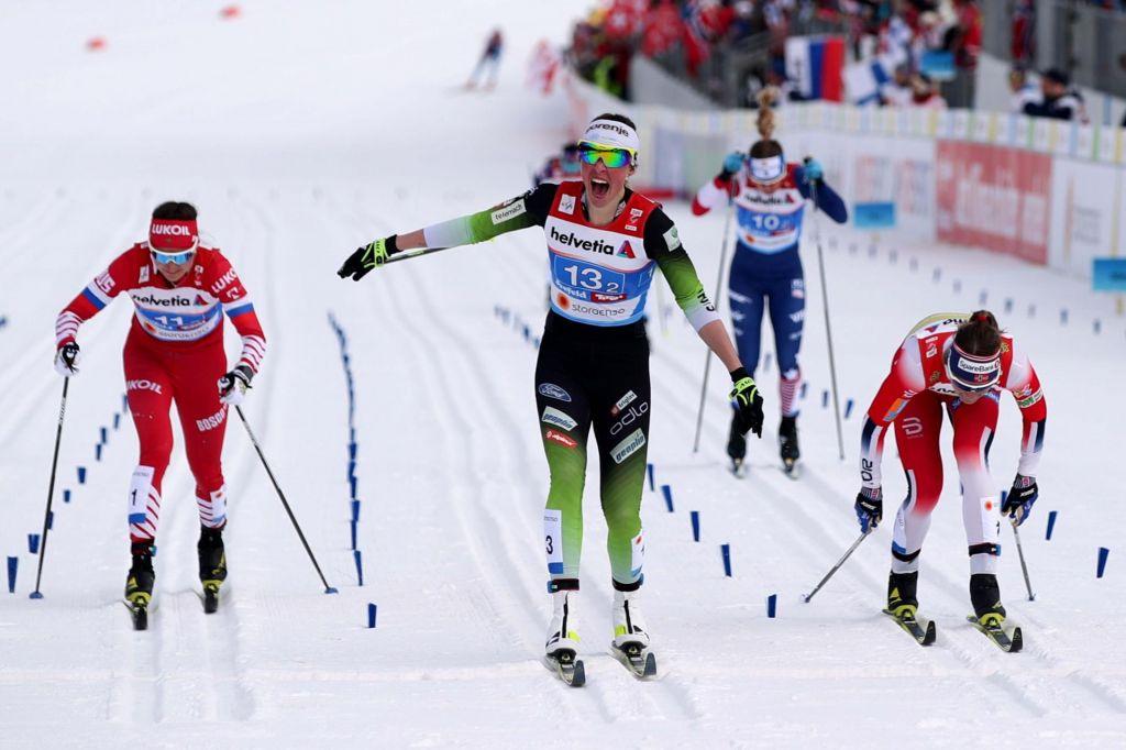 Anamarija Lampič prvič v sezoni v šprinterskem finalu