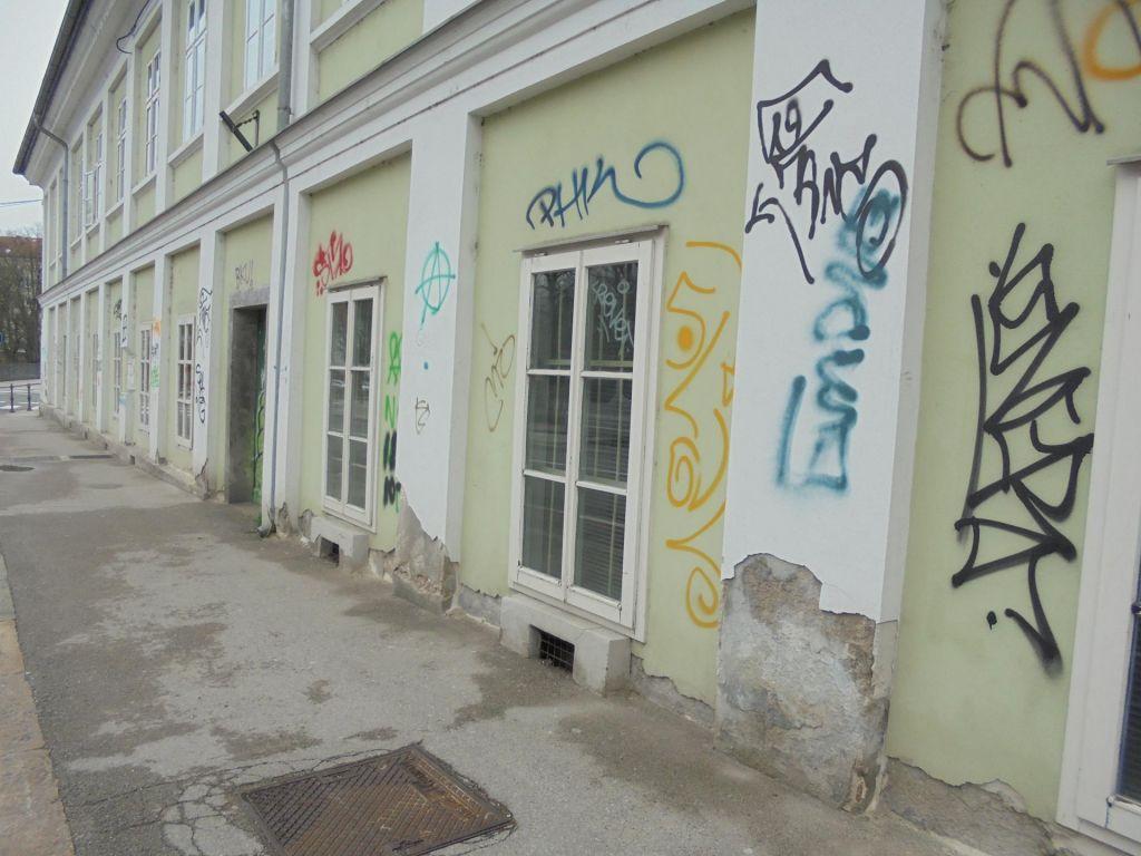 Grafiti v Ljubljani »cenejši« kot v Trstu