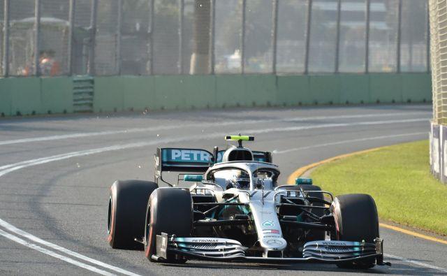Valtteri Bottas je prvi zmagovalec v novi sezoni. FOTO: Reuters