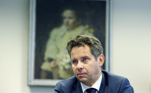 Tomaž Vesel, predsednik Računskega sodišča Republike Slovenije, pravi, da je čas za krkovni zakon. Foto Aleš Černivec
