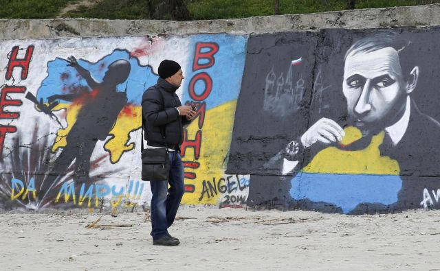 Pred petimi leti si je Rusija pod vodstvom predsednika Vladimirja Putina prisvojila dotlej ukrajinski polotok Krim. Foto: Reuters