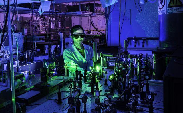 Na inštitutu na leto prijavijo 15 patentov. Foto Arne Hodalič, Katja Bidovec