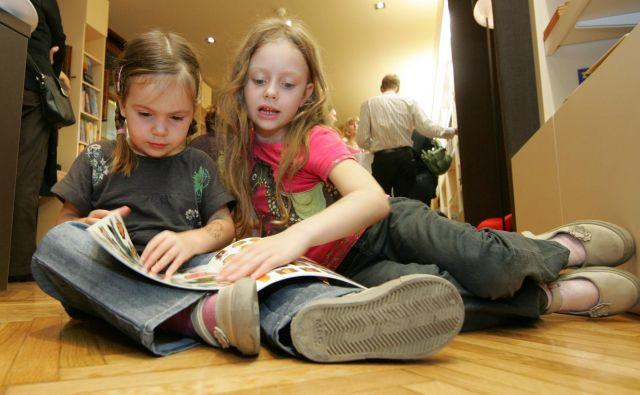 Če nekdo kot otrok ne razvije dobro zmožnosti branja in tudi bralne kulture, potem zelo verjetno tudi kot odrasli ne bo bral več.<br /> Foto Igor Modic<br />