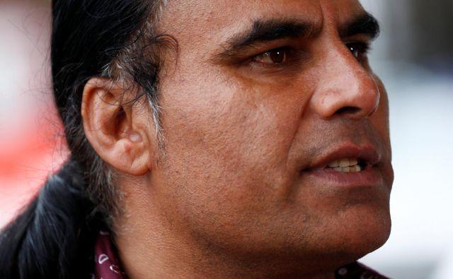 Brez požrtvovalnega Abdula Aziza bi bilo žrtev na Novi Zelandiji še več. FOTO: Reuters