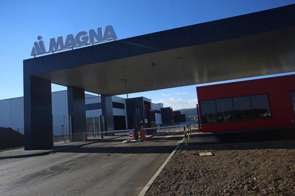 To je datum, ko bo Magna zagnala proizvodnjo