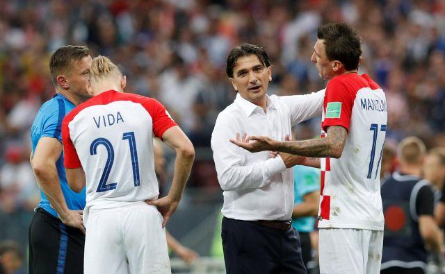 Zlatko Dalić še ni rekel zadnje na hrvaški klopi. FOTO: Darren Staples/Reuters
