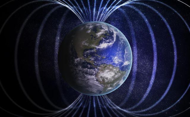 Magnetno polje Zemlje Foto Shutterstock