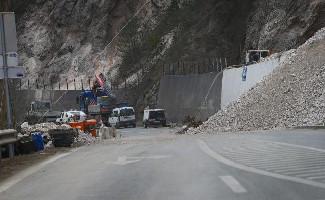 Cesta Zagorje-Trbovlje bo predvidoma odprta aprila. Foto Jože Suhadolnik