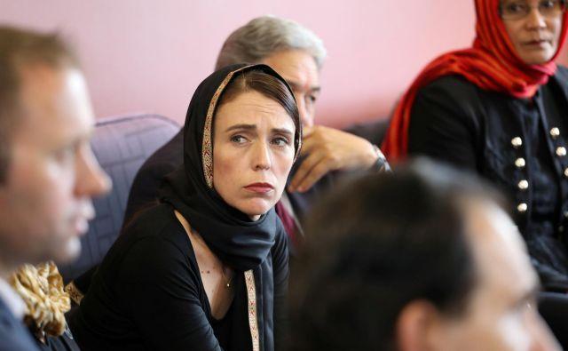 Jacinda Ardern:On je terorist. On je kriminalec. On je ekstremist. Toda ko bom govorila o njem, bo brez imena. FOTO: Reuters