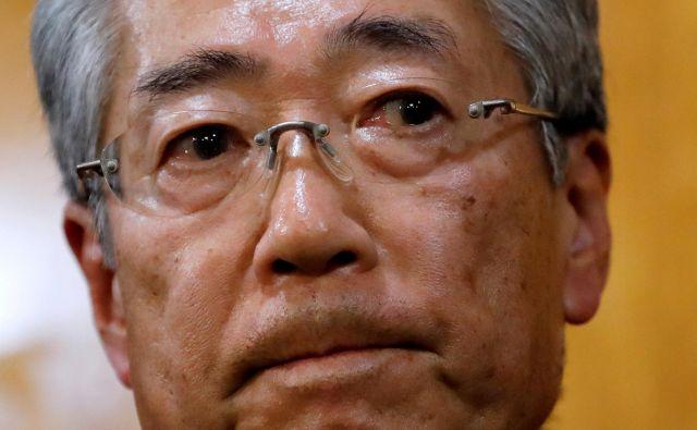 Cunekazu Takeda bo odstopil konec junija. FOTO: Kim Kyung Hoon/Reuters