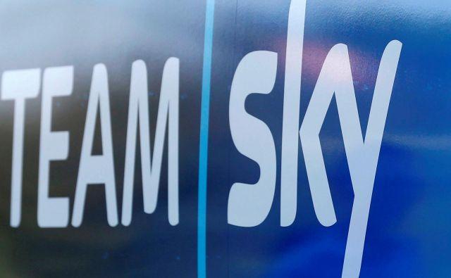 Zmaga na zadnji francoski pentlji bo za Sky ostala zadnja od velikih kolesarskih dirk. FOTO: Reuters