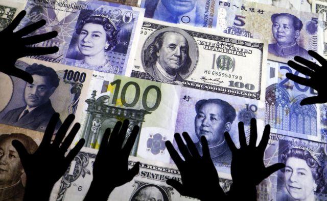 Pri pranju denarja slovenska policija v večini primerov opaža zneske, ki presegajo veliko vrednost, to je 50.000 evrov in več. FOTO: Reuters